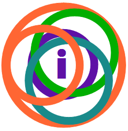 Interlocking circles, a bit celtic