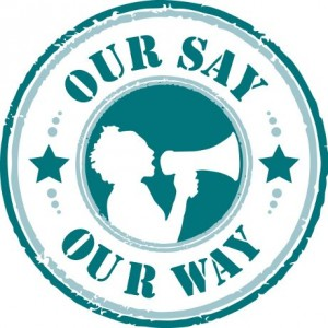 Our Say Our Way logo