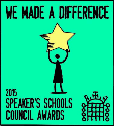 Greg helps to judge the Speaker's School Council Awards 2015